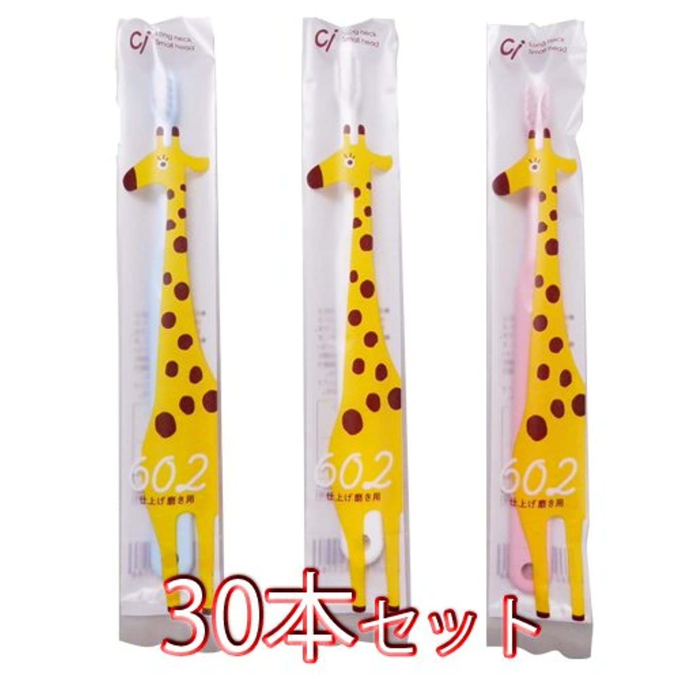 前方へ下手図Ciメディカル 歯ブラシ Ci602 仕上げ磨き用 30本入