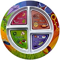 Fresh Baby 4 Section Children's Plate, Spanish by Fresh Baby