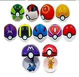 Simba 9ピース異なるスタイルボール+ 9ピースFiguresスーパーアニメFiguresボールポケモン子供用おもちゃのプラスチックボール (¥ 26,504)