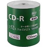 MAG-LAB CD-R CR80GP100_BULK (700MB/100枚/シュリンクecoパック/52倍速)