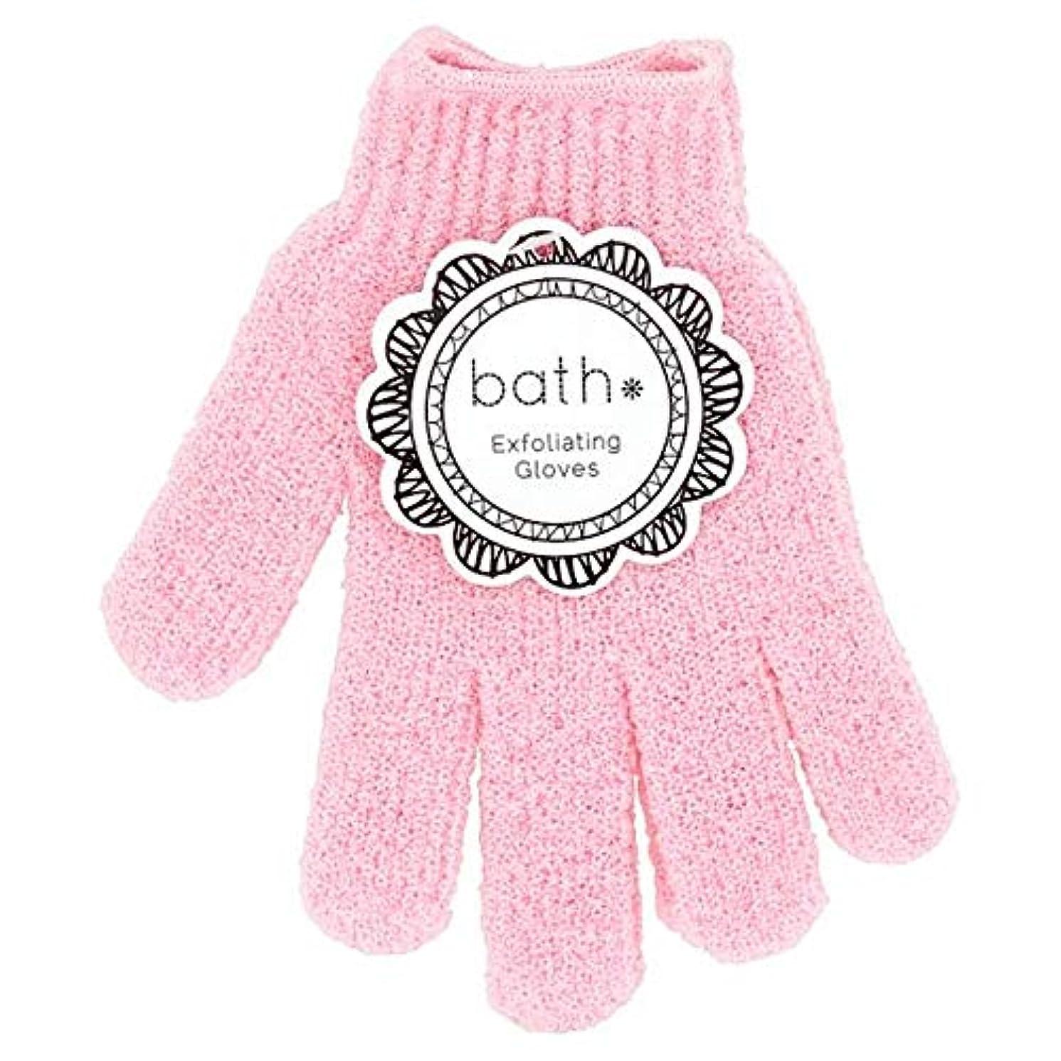 どんなときも数学火山学者[Bath Essentials] 手袋を剥離風呂の必需品 - Bath Essentials Exfoliating Gloves [並行輸入品]