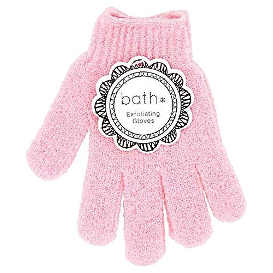 分類トラブル分類[Bath Essentials] 手袋を剥離風呂の必需品 - Bath Essentials Exfoliating Gloves [並行輸入品]