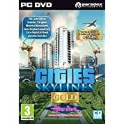 Cities Skylines Gold After Dark (PC DVD) (輸入版)