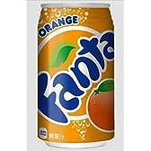 (お徳用ボックス) ファンタオレンジ350ml缶 × 24本