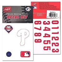 MLBバッティングヘルメットデカールキット Rawlingsから