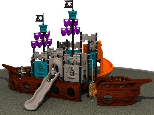 Lejian(レジアン) 帆船型大型公園遊具 モデルNo1237-4