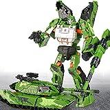 LIRIDP 変形ロボット アニメキャラクター子供用変形玩具車キングコングロボット合金モデルセットアクションフィギュア車最高の子供向けおもちゃ アクションマップ車両