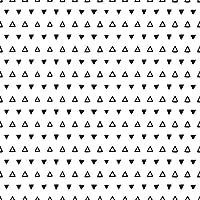Peel and Stickブラックandホワイト幾何赤ちゃんリムーバブル壁紙3464 2ft x 4ft (61x122cm) 106183464