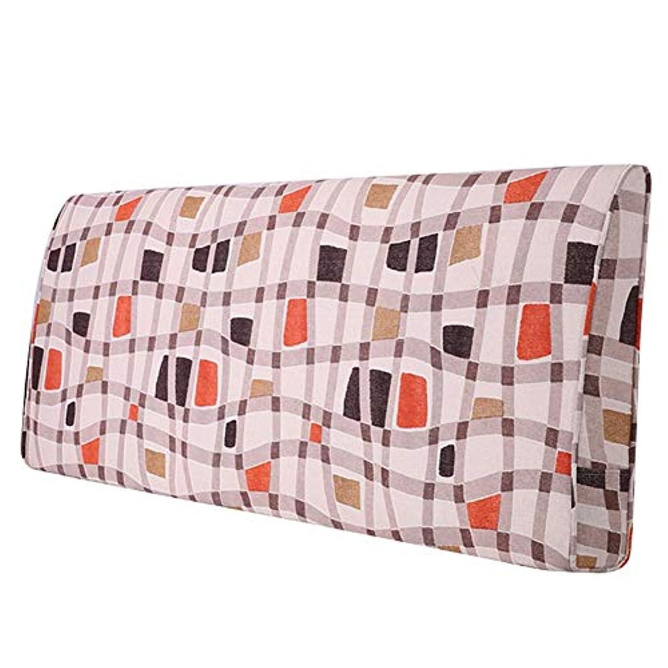 王朝銀行スペースLIANGLIANG クションベッドの背もたれ ソファソフトバッグ クリエイティブパターン ベッドサイドデコレーション ベッドの背もたれ ダブルエクストララージ コットン 耐摩耗性 丈夫 、5色、12サイズ (色 : #A, サイズ さいず : 190x60x10cm)