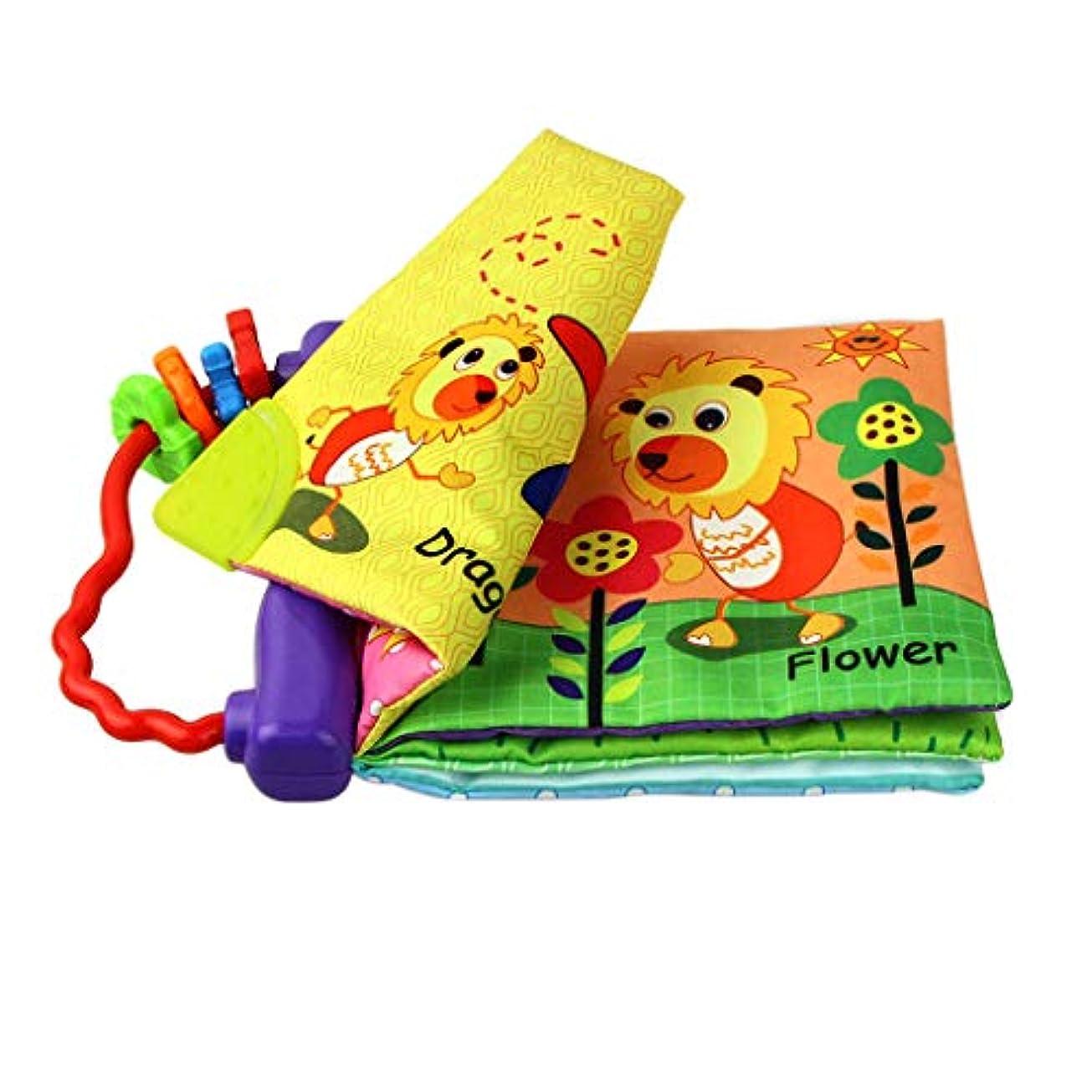 ピック投票反発布絵本 知育絵本 日常 物品 英語 形状 認識 学習玩具 想像力 手 目 協調 開発 耐久性 洗える