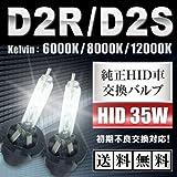 【最高クラス D2C(S/R)兼用バルブ!】 純正交換HIDバルブ インテグラ [D2R] DC5 純正HID仕様車 ロービーム 12V 35W 8000K[平成16.9-18.6]
