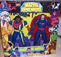 Marvel Super Heroesビショップvs。Mr。Sinister 10インチTallアクションフィギュア