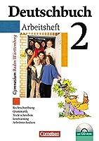 Deutschbuch Gymnasium 02. 6. Schuljahr. Arbeitsheft mit Loesungen und CD-ROM. Baden-Wuerttemberg