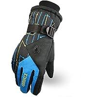 スキーグローブ 自転車 サイクリンググローブ 防寒 撥水 滑り止め アウトドア 冬用 通勤 登山 スノーボード 手袋 メンズ