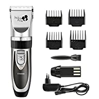 Hair Shaver Rechargeable Professional Haircut Grooming Clipper,Silver by Jack & Rose