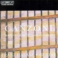 イタリア現代ギター曲集