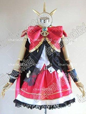 コスプレ衣装 くグランブルーファンタジー カリオストロ風衣装 男女XS-XXXL オーダー可能 クリスマス、ハロウィン イベント仮装  コスチューム