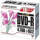 三菱化学メディア DVD-R 16倍速インクジェット対応10枚×10