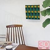 ファブリックパネル マリメッコ/marimekko VIHKIRUUSU/GREEN&ORANGE 30×30cm