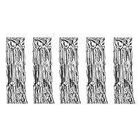 タッセルカーテン キラキラ カーテン 華やかな パーティ 飾りつけ フリンジカーテン 結婚式 写真背景 装飾 5個セット