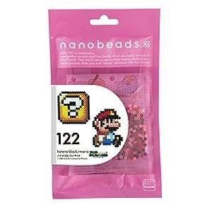 ナノビーズ 122 ハテナブロック/マリオ 80-63046