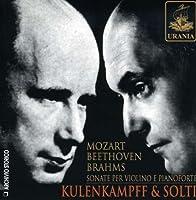 Mozart/Beethoven/Brahms : Violin Sonatas