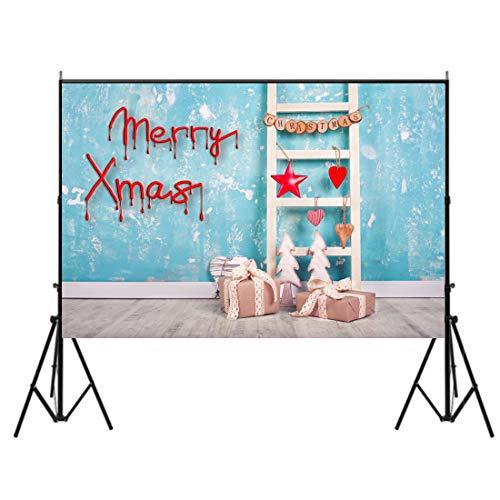 3~5日でお届け 7×5フィート クリスマス パーティー 写...