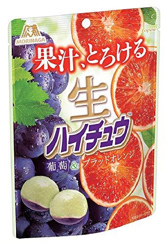 森永製菓 生ハイチュウ<葡萄&ブラッドオレンジ> 60g ×8袋