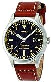 タイメックス(TIMEX) ユニセックス時計(ウォーターベリーレッドウィングシューレザー【型番:TW2P84000】)アナログ【ブラック/**】