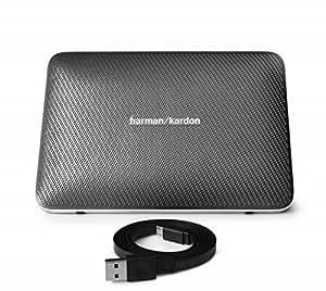 Harman Kardon ESQUIRE 2 Bluetoothスピーカー スマホ用スピーカーフォン/デジタルオーディオ用スピーカー/Bluetooth対応 グレー HKESQUIRE2GRY 【国内正規品】