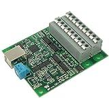 ワイツー USB 2.0対応 絶縁型デジタル入出力ボード 端子台タイプ DIO-8/8B-UBT