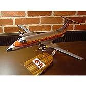 1/43 EMB 120 ASA (エンブラエル120) ASA航空 木製飛行機模型 (旅客機) ソリッドモデル