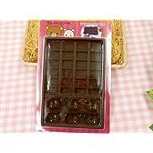 ○【リラックマ】シリコンチョコ型★チョコレート&コーヒー★