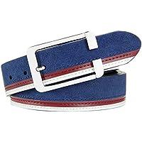 Phoenix Wonder Artificial Leather Belts Bales Catch Fashionable Joker Casual, Mens/Boys, Blue