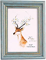 Picture Frame Antique Distressed Picture Frame 10x15cm 13x18cm 15x20cm A3 A4, Wall Hanging and Desktop, 1 Piec