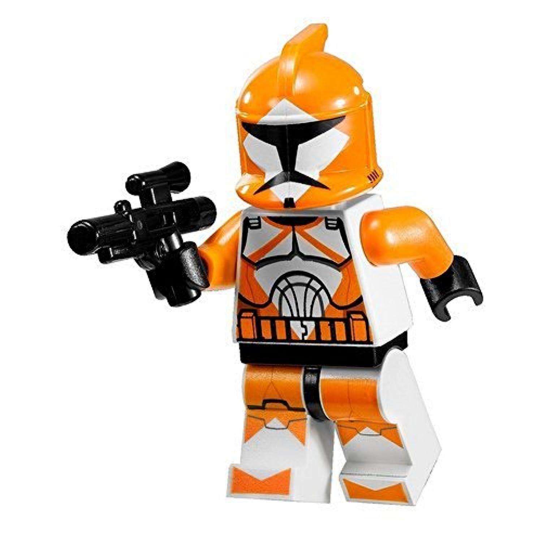[スター ? ウォーズ]Star Wars LEGO Minifigure Orange Bomb Squad Trooper with Blaster Gun LYSB004H3SK3K-TOYS [並行輸入品]