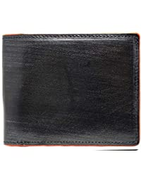 [High-end] 極上イタリア製ブライドルレザー使用 高級 本革 二つ折り財布 大容量
