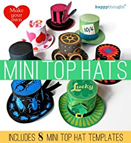 amazon co jp make your own mini top hats includes 8 mini top hat