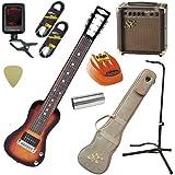 SX ラップスチールギター 初心者 入門 エコーも付いてる9点セット LG-2/3TS(3トーンサンバースト)