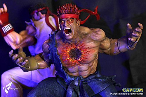 STREET FIGHTER/ストリートファイター/リュウ/  STREET FIGHTER KINETIQUETTES EVIL RYU RESIN FIGURE FIGURA STATUE.PRE-ORDER