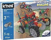 K'NEX K'Nex イマジン - 4WD デモリショントラック組み立てセット - 212ピース - 年齢7歳以上 - エンジニアリング教育玩具ビルディングセット