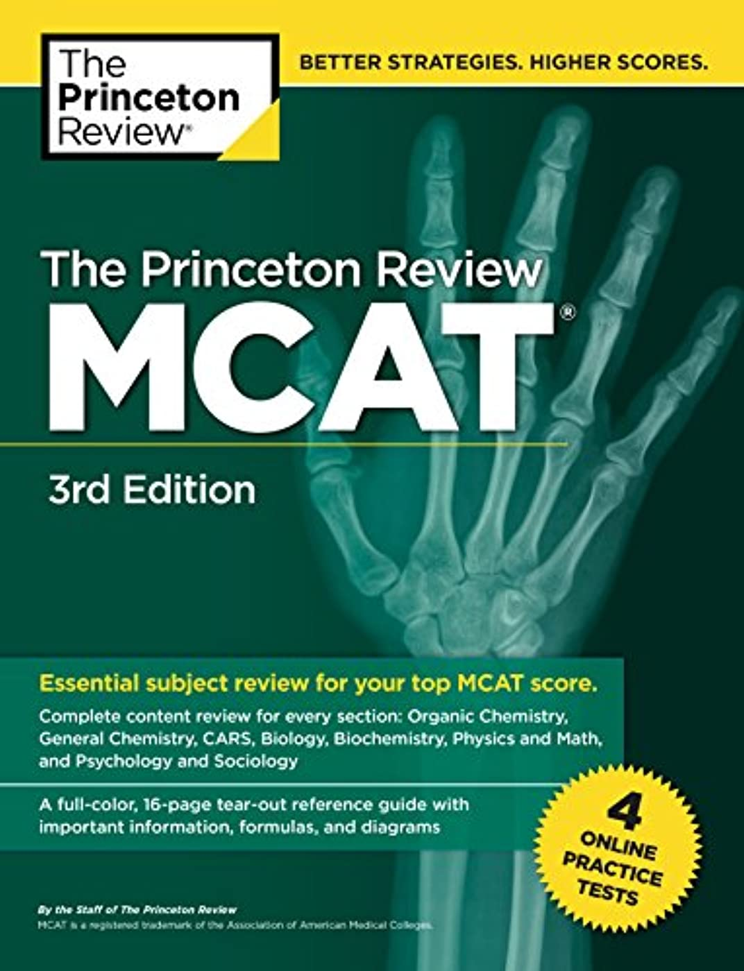 望ましい脱走野心的The Princeton Review MCAT, 3rd Edition: 4 Practice Tests + Complete Content Coverage (Graduate School Test Preparation)