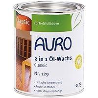 AURO(アウロ) No.129 油性床用ベースワックス 0.75L