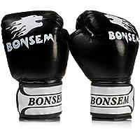 ボクシンググローブ 練習用グローブ 手首サポーター付き 合成レザー 空手/ムエタイ/パンチング/総合格闘技/などのトレーニング フルフィンガータイプ 左右セット
