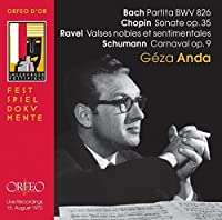 Partita Sonate Op. 35 Valses by BACH / CHOPIN / RAVEL / SCHUMANN (2007-10-30)