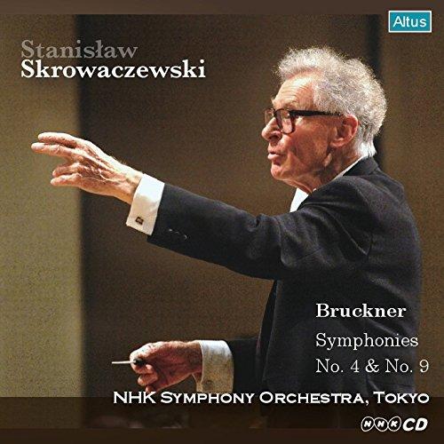 ブルックナー : 交響曲 第9番 & 第4番 「ロマンティック」 (Bruckner : Symphonies No.4 & No.9 / Stanislaw Skrowaczewski | NHK Symphony Orchestra, Tokyo) [2CD] [日本語帯・解説付]