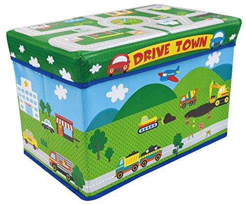 ユーカンパニー U-company ストレージボックス スツール ドライブタウン 耐荷重80kg 座れる収納ボックス
