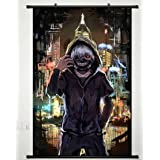 Poster Home Decor Anime Tokyo Ghoul Wall Fabric Painting Kaneki Ken inch 36 inch x 24 inch w/Scroll A