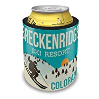 Slap CanクーラーBreckenridge Ski Resort – コロラドSki Resort InsulatorスリーブカバーNEONBLOND