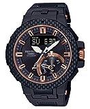 [カシオ] 腕時計 プロトレック 電波ソーラーMulti Field Line Carbon Edition PRW-7000X-1JR メンズ ブラック